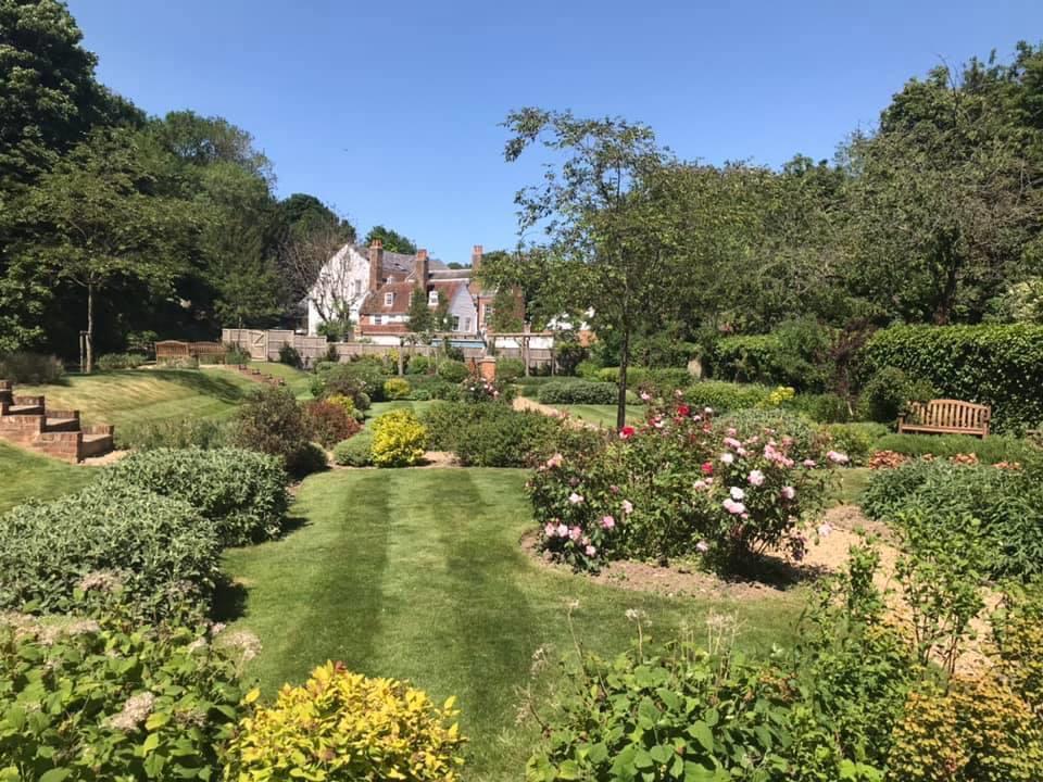 Orchard house, farningham Mill communal gardens