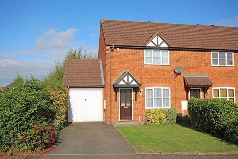 2 bedroom end of terrace house to rent - Justice Close, Whitnash