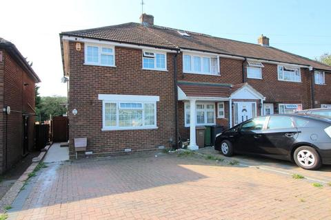 3 bedroom end of terrace house for sale - Dallow Road, Luton, Bedfordshire, LU1 1UL