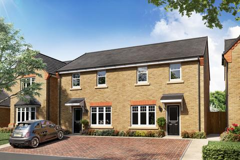 3 bedroom semi-detached house for sale - Plot 128 - The Bamburgh at Regents Green, Birkin Lane, Grassmoor, Chesterfield, S42 5HB S42