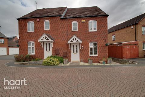 3 bedroom semi-detached house for sale - Little Easton Close, Leicester