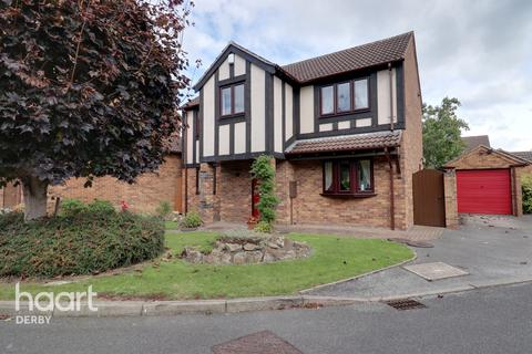 4 bedroom detached house for sale - South Brae Close, Littleover