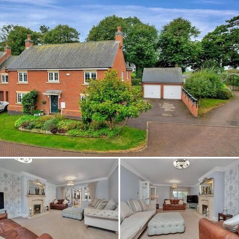 4 bedroom detached house for sale - Orton Close, Rearsby, Leicester