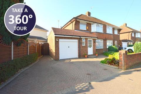 3 bedroom semi-detached house for sale - Fallowfield, Icknield, Luton, Bedfordshire, LU3 1UL