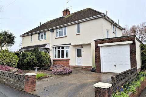 3 bedroom semi-detached house to rent - Wordsworth Avenue, Penarth,