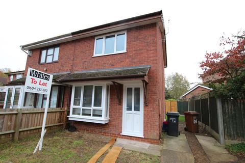 2 bedroom semi-detached house to rent - Keyham Court, Northampton