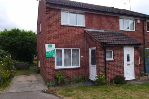 2 bedroom semi-detached house to rent - Faldo Close, Rushy Mead, Leicester, LE4 7TS