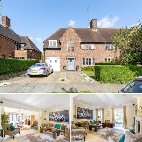 5 bedroom semi-detached house for sale - Southway, Hampstead Garden Suburb, London, NW11