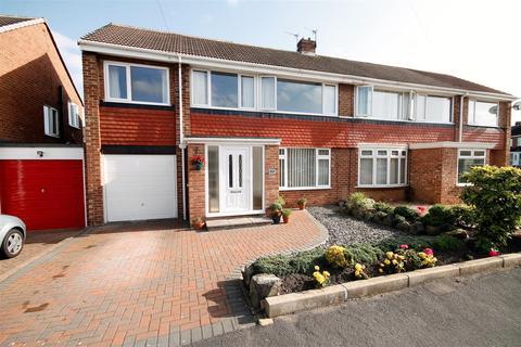 5 bedroom semi-detached house for sale - Grinstead Way, Carrville, Durham