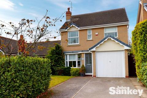 3 bedroom detached house for sale - Darwin Close, Mansfield