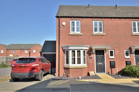 3 bedroom end of terrace house for sale - Grebe Close, Calvert, Buckingham