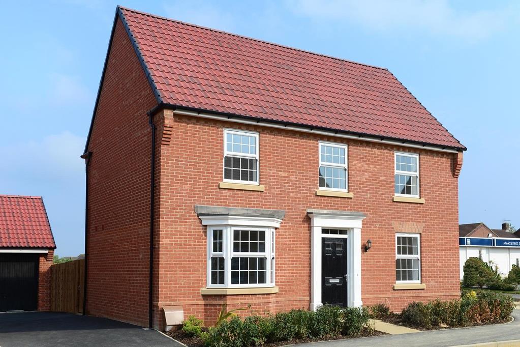 Plot 5 Avondale At Lavendon Fields Soames Close Lavendon Olney Mk46 4 Bed Detached House 559 995