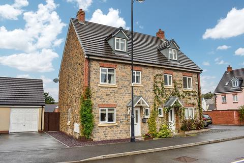 4 bedroom semi-detached house for sale - Ffordd Y Draen, Coity, Bridgend . CF35 6FQ