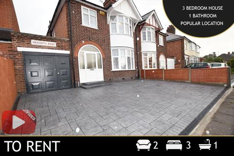 3 bedroom apartment to rent - Meredith Road, Leicester, LE3