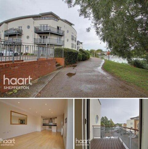 2 bedroom flat to rent - Chertsey House, Bridge Wharf