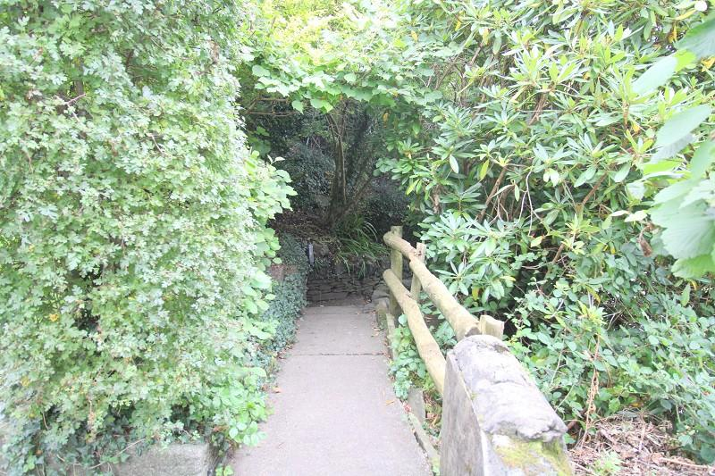 Pathway up to property