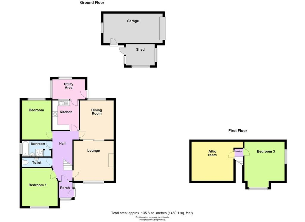 Floorplan: 9 penns close, Haverfordwest floorplan.JPG