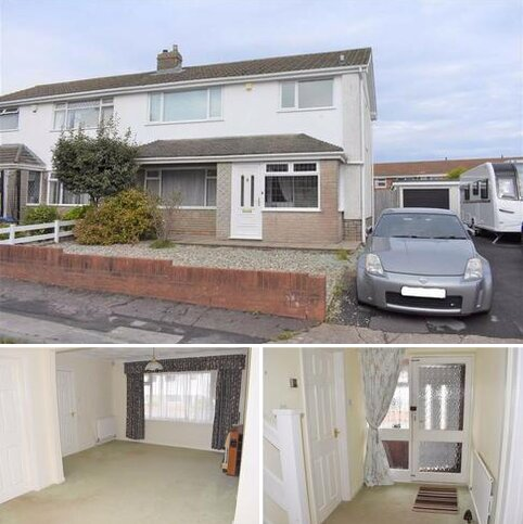 3 bedroom semi-detached house for sale - Lambourne Drive, Newton, Swansea