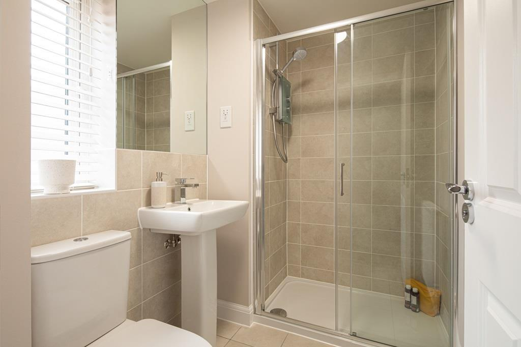 Kingsville show home bathroom