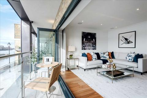 3 bedroom terraced house to rent - Oxbridge Terrace Townhouses, Fulham, Fulham