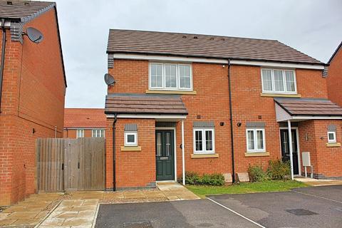 2 bedroom semi-detached house for sale - Heatherley Grove, Wigston