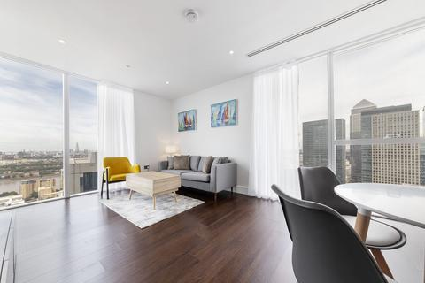 2 bedroom apartment to rent - Maine Tower, Harbour Central, 9 Harbour Way, Canary Wharf, London, E14
