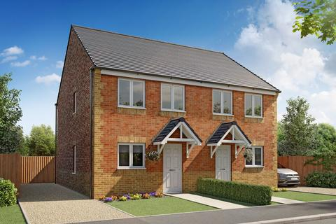 3 bedroom semi-detached house for sale - Plot 015, Tyrone at School Court, Butchers Lane, Pegswood, Northumberland NE61