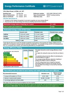 1 bedroom flat to rent - Albert Road, Luton, Bedfordshire, LU1