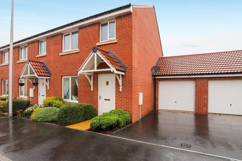 3 bedroom end of terrace house for sale - Shareford Way, Cranbrook