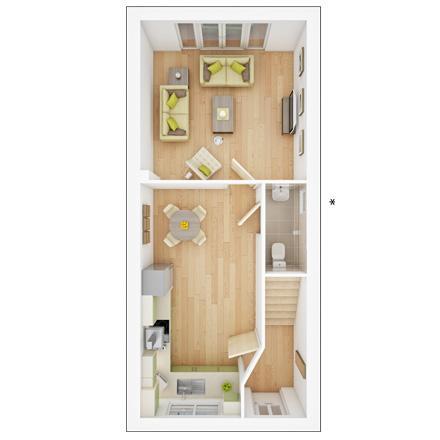 Floorplan 1 of 3: Ingleton  GF  floorplan  Marston Grange ph2