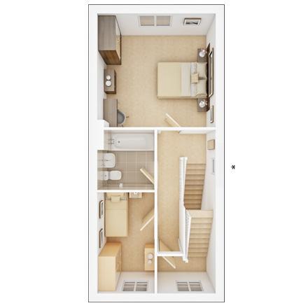 Floorplan 2 of 3: Ingleton  FF  floorplan  Marston Grange ph2