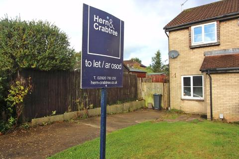 2 bedroom semi-detached house to rent - Richard Lewis Close, Danescourt, Cardiff