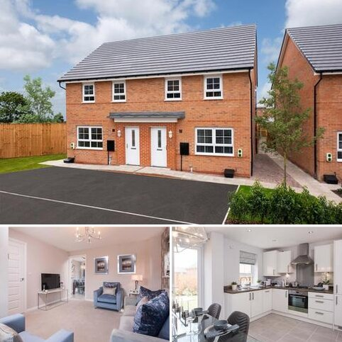 3 bedroom end of terrace house for sale - Plot 93, Maidstone at Somerford Reach, Black Firs Lane, Somerford, CONGLETON CW12