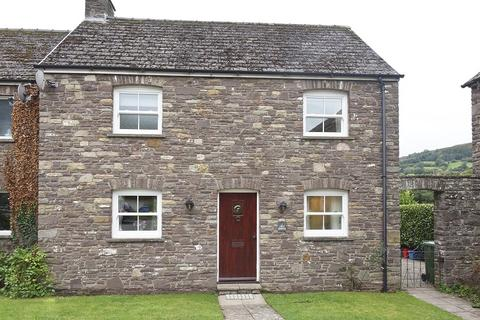 2 bedroom semi-detached house for sale - Cwrt Cwmdu, Cwmdu, Crickhowell, Powys.