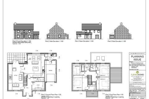 4 bedroom property with land for sale - Plot 1, Station Road, Launton