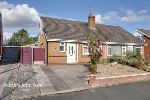 2 bedroom semi-detached bungalow for sale - Lear Drive, Wistaston, Crewe