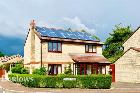 4 bedroom detached house for sale - Swanage Close, Cardiff