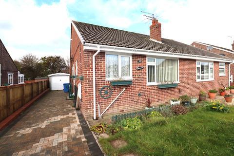 2 bedroom semi-detached bungalow for sale - North Leas Drive, Bridlington