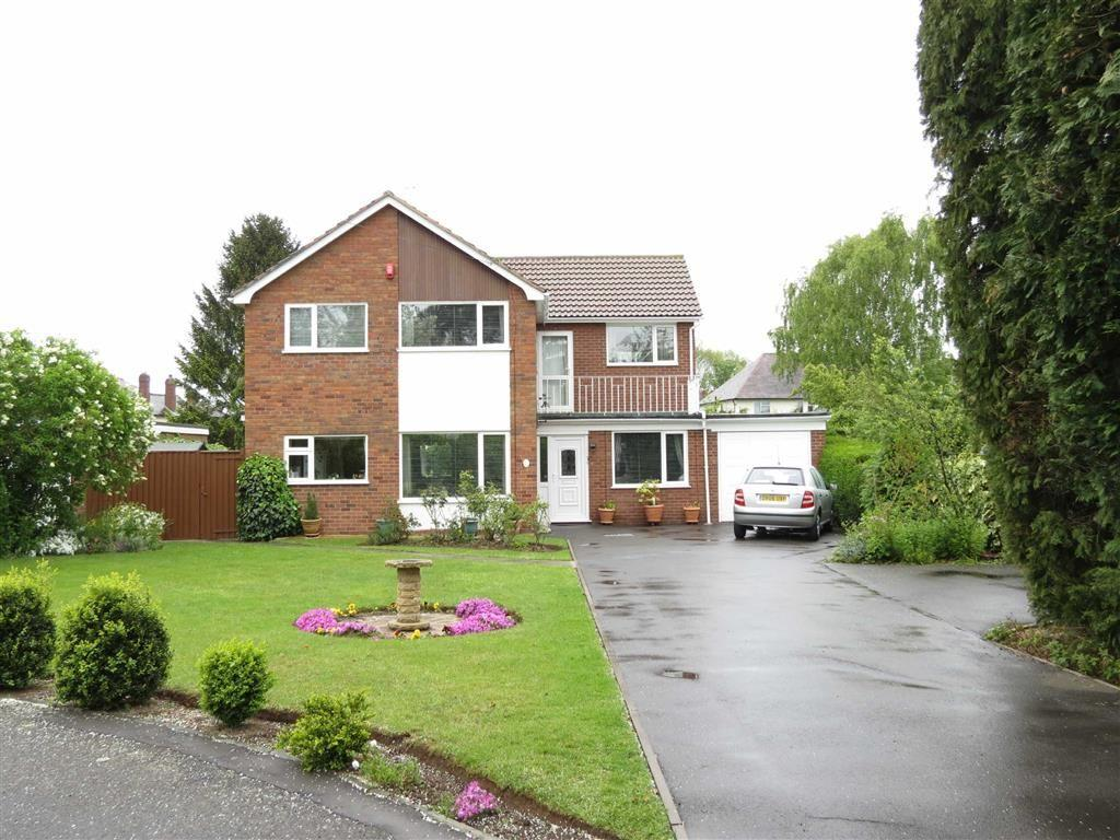 5 Bedrooms Detached House for sale in Chestnut Close, Shrewsbury, Shropshire
