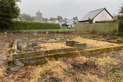 Plot for sale - Peters Field, Llanddewi Brefi, Tregaron, SY25