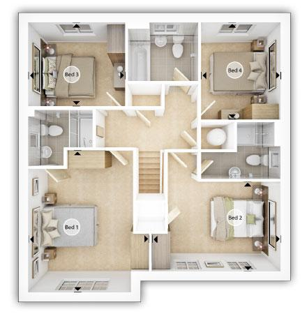 Floorplan 2 of 2: Eynsham FF