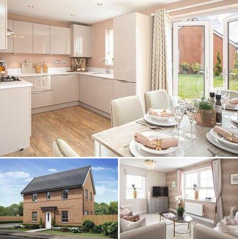 3 bedroom detached house for sale - Plot 86, Moresby at Chapel Fields, Glebe Road, Loughor, SWANSEA SA4