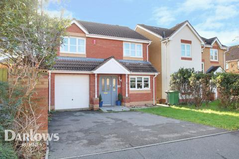 4 bedroom detached house for sale - Spencer David Way, Cardiff