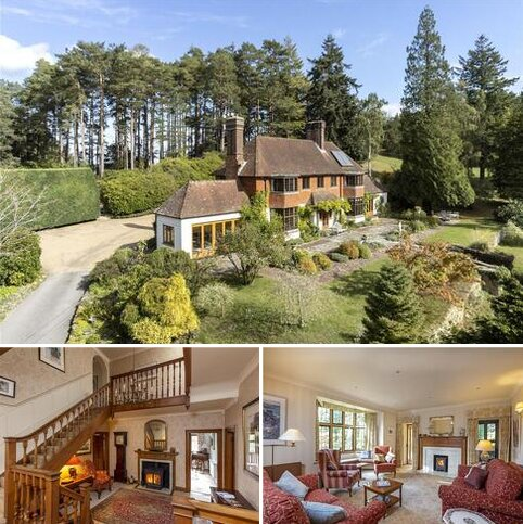 5 bedroom equestrian property for sale - Jumps Road, Churt, Farnham, Surrey, GU10