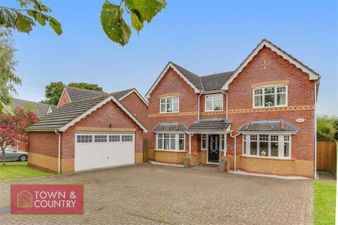 5 bedroom detached house for sale - The Hedgerows, Wood Lane, Hawarden, Flintshire