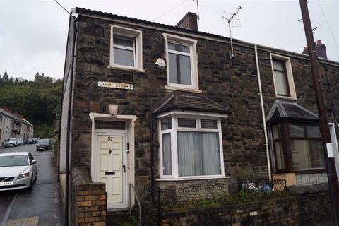 2 bedroom end of terrace house for sale - John Street, Aberdare