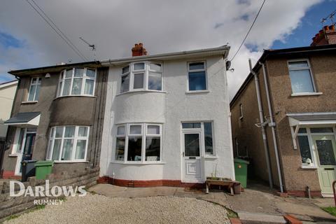 3 bedroom semi-detached house for sale - Wentloog Road, Cardiff