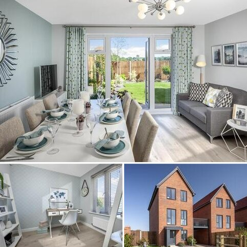 3 bedroom detached house for sale - Plot 77, Bay at Barratt Homes at Chilmington, Hedgers Way, Kingsnorth, ASHFORD TN23