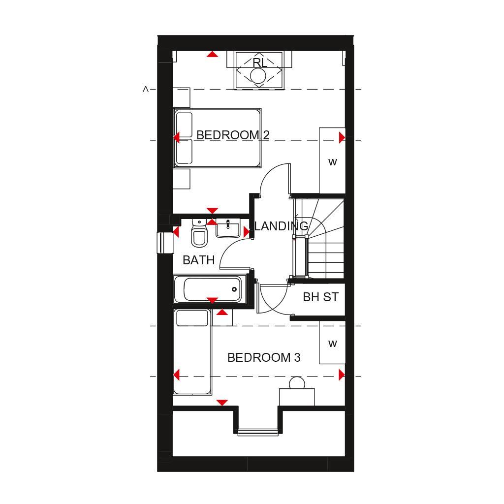Floorplan 3 of 3: 414491 Kingsville Plus SF PLAN Berewood Green