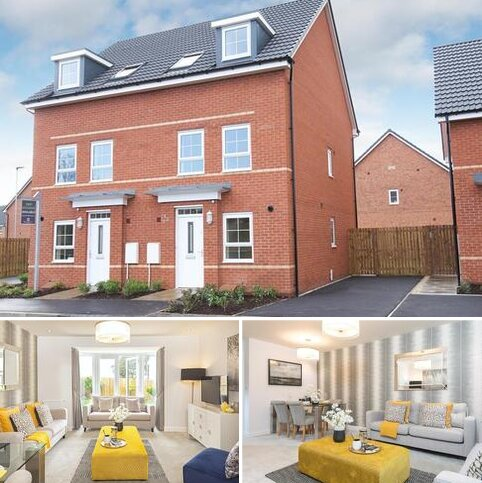 3 bedroom end of terrace house for sale - Plot 75, Padstow at J One Seven, Old Mill Road, Sandbach, SANDBACH CW11